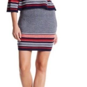 NWT Lovers + Friends Skye ribbed skirt